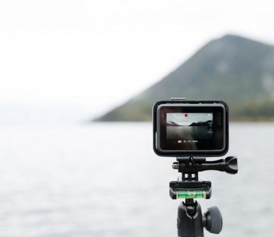 kamera sportowa na stok