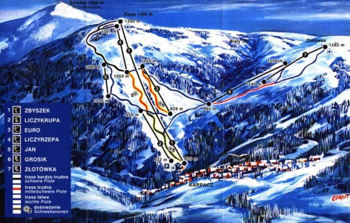 stoki narciarskie w karpaczu