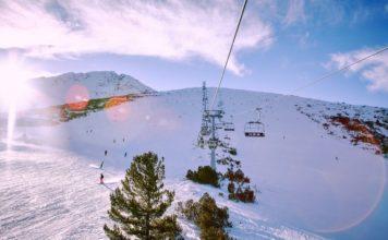 szkola jazdy na nartach