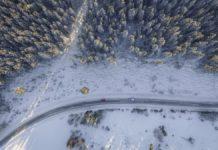 samochodem na narty